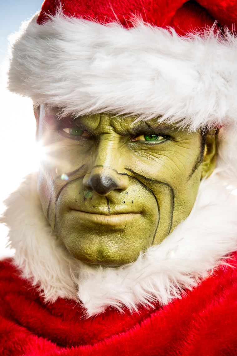 Grinch self portrait