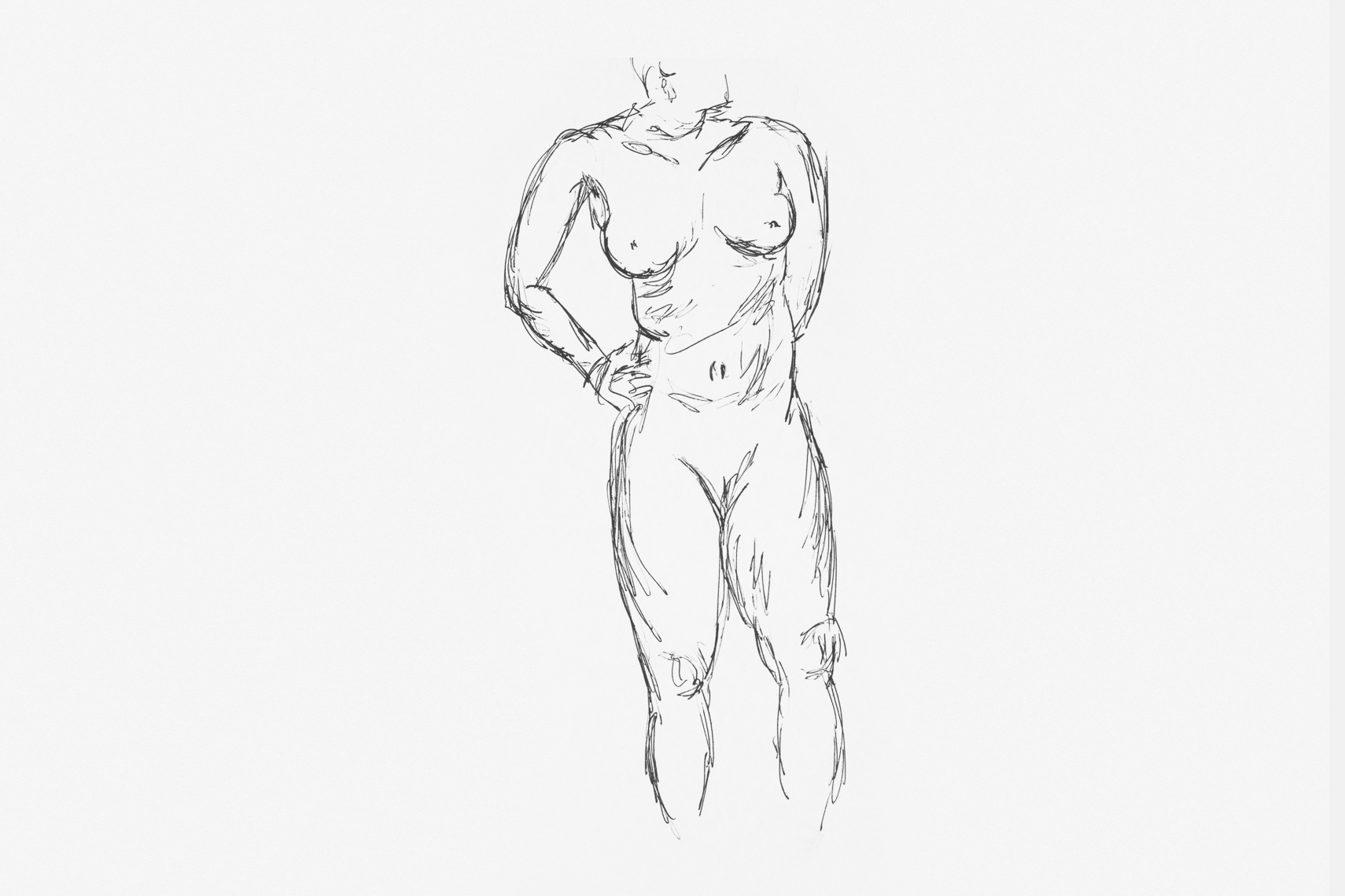 Figure drawing sketches by San Francisco Bay Area advertising, healthcare and corporate photographer Robert Houser